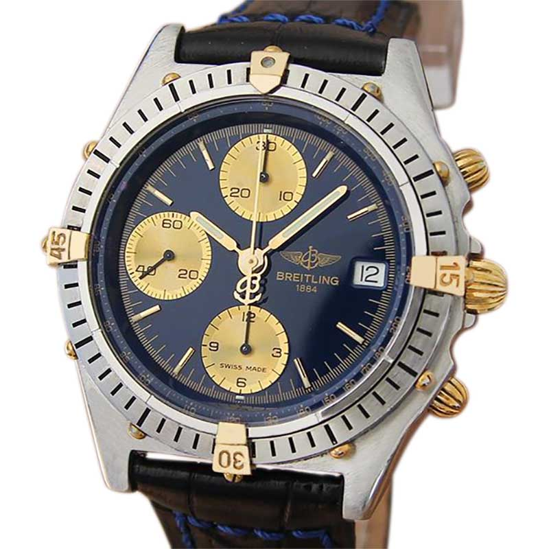 """Image of """"Breitling Chronomat B13047 Stainless Steel and 18K Yellow Gold 39mm"""""""