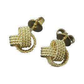 Tiffany & Co. Somerset 18K Yellow Gold Earrings