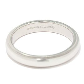 Tiffany & Co. Milgrain 950 Platinum Ring Size 9.5