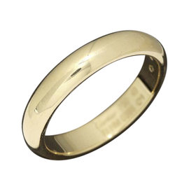 Cartier Classic 18K Yellow Gold Ring Size 4.75