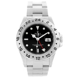 Rolex Explorer II 16570 Black Dial Stainless Steel 40mm Mens Watch