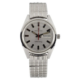 Hamilton Stainless Steel Automatic Vintage 30mm Mens Watch
