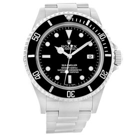 Rolex Seadweller 16600 Stainless Steel & Black Dial Automatic 40mm Mens Watch