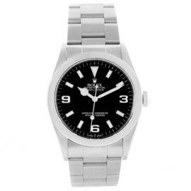 Rolex Explorer 114270 Stainless Steel with Black Dial 36mm Mens Watch
