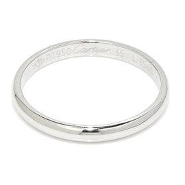 Cartier Platinum Ring Size 7.25