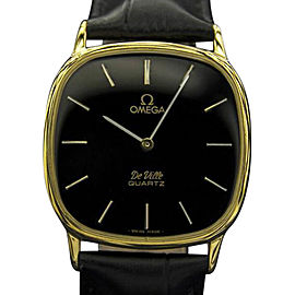 Omega Deville Stainless Steel and Gold Plated 32mm Mens Watch