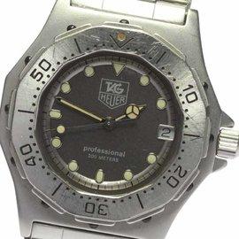 Tag Heuer Professional 932.213 Stainless Steel Swiss Quartz 34mm Unisex Watch