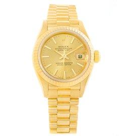 Rolex President Datejust 69178 18K Yellow Gold Automatic 26mm Womens Watch