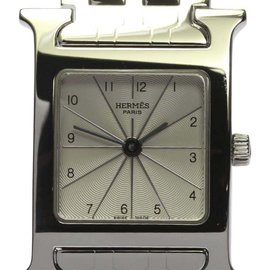 Hermes H Watch HH1.210 Stainless Steel Quartz 21mm Womens Watch