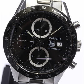 Tag Heuer Carrera CV2010-0 Chronograph Stainless Steel 41mm Mens Watch