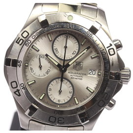 Tag Heuer Aquaracer CAF2111 Stainless Steel 42mm Mens Watch