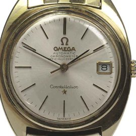 Omega Constellation Gold Plated Automatic 35mm Mens Watch
