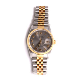 Rolex Datejust 16233 18K Yellow Gold / Stainless Steel 36mm Mens Watch