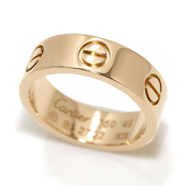 Cartier Love 18K Rose Gold Ring Size 4.75
