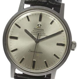 Omega Seamaster Stainless Steel Automatic Vintage 34mm Mens Watch