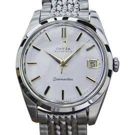 Omega Seamaster Stainless Steel Automatic Mens 35mm Watch 1960s
