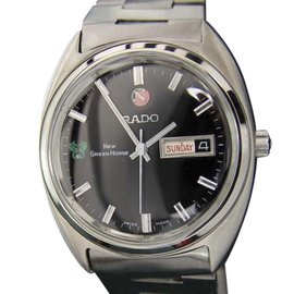Rado Green Horse Stainless Steel Automatic 36mm Mens Watch 1968