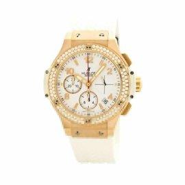 Hublot Big Bang 341.PE.2010.RW.1104 Rose Gold & Rubber wDiamond Automatic 41mm Men's Watch