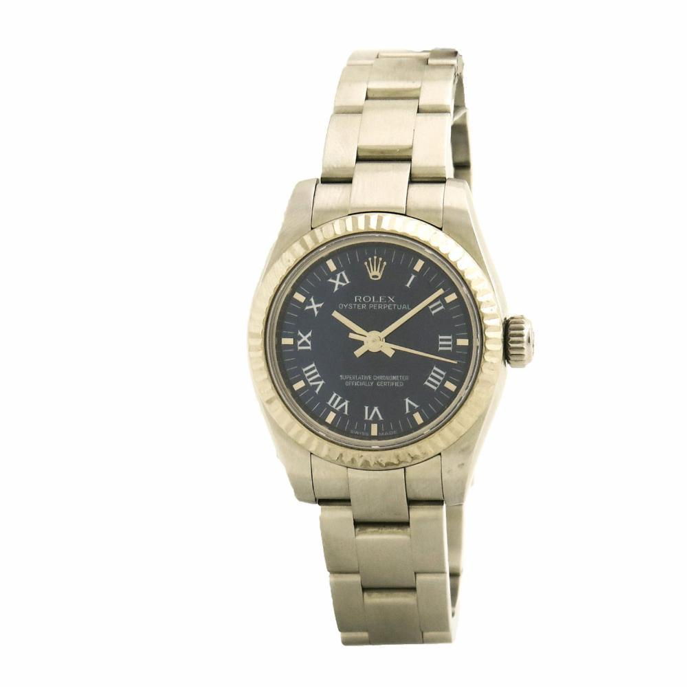 "Image of ""Rolex Oyster Perpetual 176234 Stainless Steel Automatic 26mm Women's"""