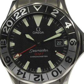 Omega Seamaster 300 GMT Gerry Lopez Limited Edition 2536.50 Stainless Steel Automatic 41mm Mens Watch