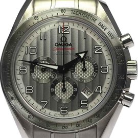 Omega Speedmaster Broad Arrow 321.10.44.50.02.001 Silver Dial 44mm Mens Watch