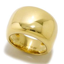 Cartier Nouvelle Vague 18K Yellow Gold Ring Size 4.75