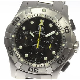 Tag Heuer Aquaracer CN211A.BA0353 Stainless Steel Automatic 43mm Mens Wrist Watch