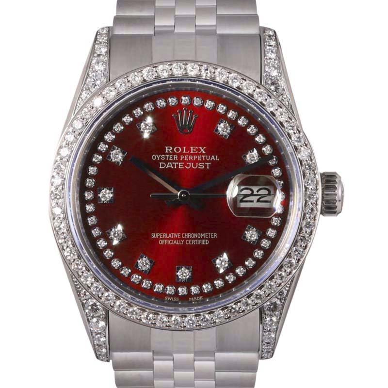 """Image of """"Rolex Datejust Stainless Steel Automatic 36mm Unisex Watch"""""""