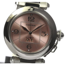 Cartier Pasha C W31058M7 Stainless Steel Automatic 35mm Unisex Watch