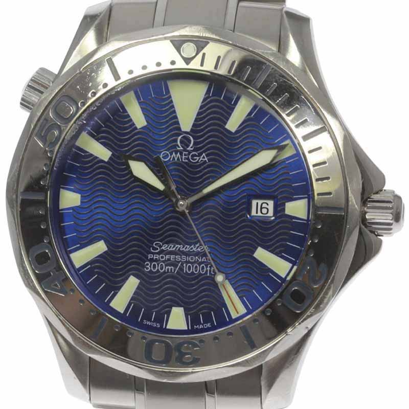 "Image of ""Omega Seamaster 2265.80 Stainless Steel 41mm Mens Watch"""