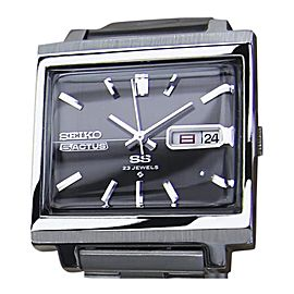 Seiko Actus Stainless Steel Automatic Vintage 34mm Mens Watch