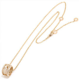 Bulgari Parenteshi 18K Pink Gold & Diamond Necklace