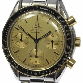 Omega Speedmaster 3310.10 18K Yellow Gold & Stainless Steel 39mm Mens Watch