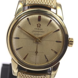 Omega Seamaster Stainless Steel/Gold Plated Automatic 34mm Mens Wrist Watch