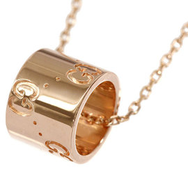 Gucci Icon 18K Pink Gold Necklace