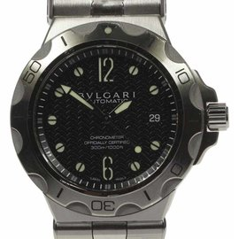 Bulgari Diagono Scuba DP42SSD Stainless Steel Automatic 42mm Mens Watch