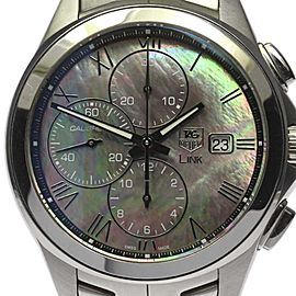 Tag Heuer Link CAT2014 Stainless Steel Automatic 44mm Mens Watch