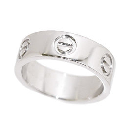 Cartier Love 950 Platinum Ring Size 4.5