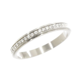 Cartier Damorour 950 Platinum & Diamond Ring Size 3.25