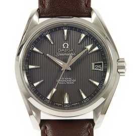 Omega Seamaster Aqua Terra 231.13.39.21.06.001 Stainless Steel Automatic Skeleton Back 39mm Mens Watch