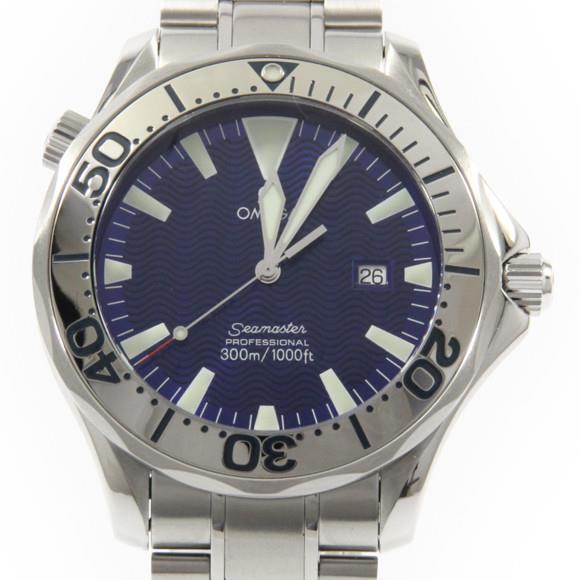 "Image of ""Omega Seamaster 2265.80 Stainless Steel Quartz 41mm Mens Watch"""
