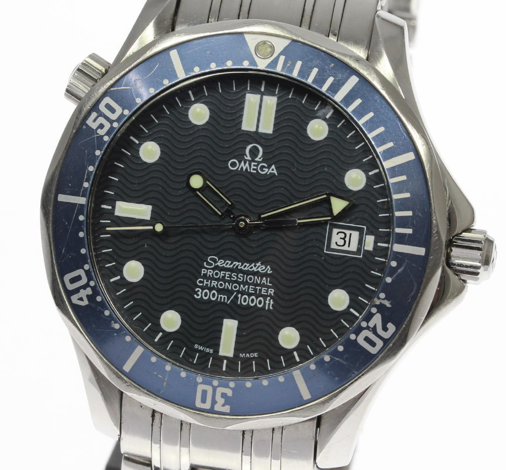"Image of ""Omega Seamaster Professional 300 581.80 Stainless Steel Automatic 41mm"""