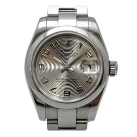 Rolex DateJust 179160 Stainless Steel Concentric Dial Automatic Silver 27mm Womens Watch