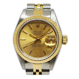 Rolex Oyster Perpetual Datejust 69173 Stainless Steel / Yellow Gold Automatic 26mm Womens Watch