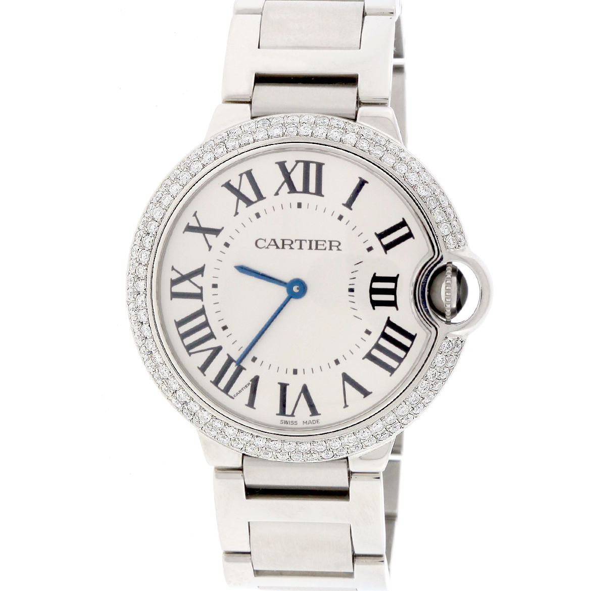Cartier Ballon Bleu W69011Z4 Stainless Steel 36mm Unisex Watch