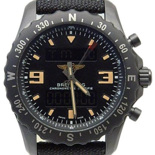 "Image of ""Breitling Chronospace M78366 Stainless Steel Quartz 46mm Mens Watch"""