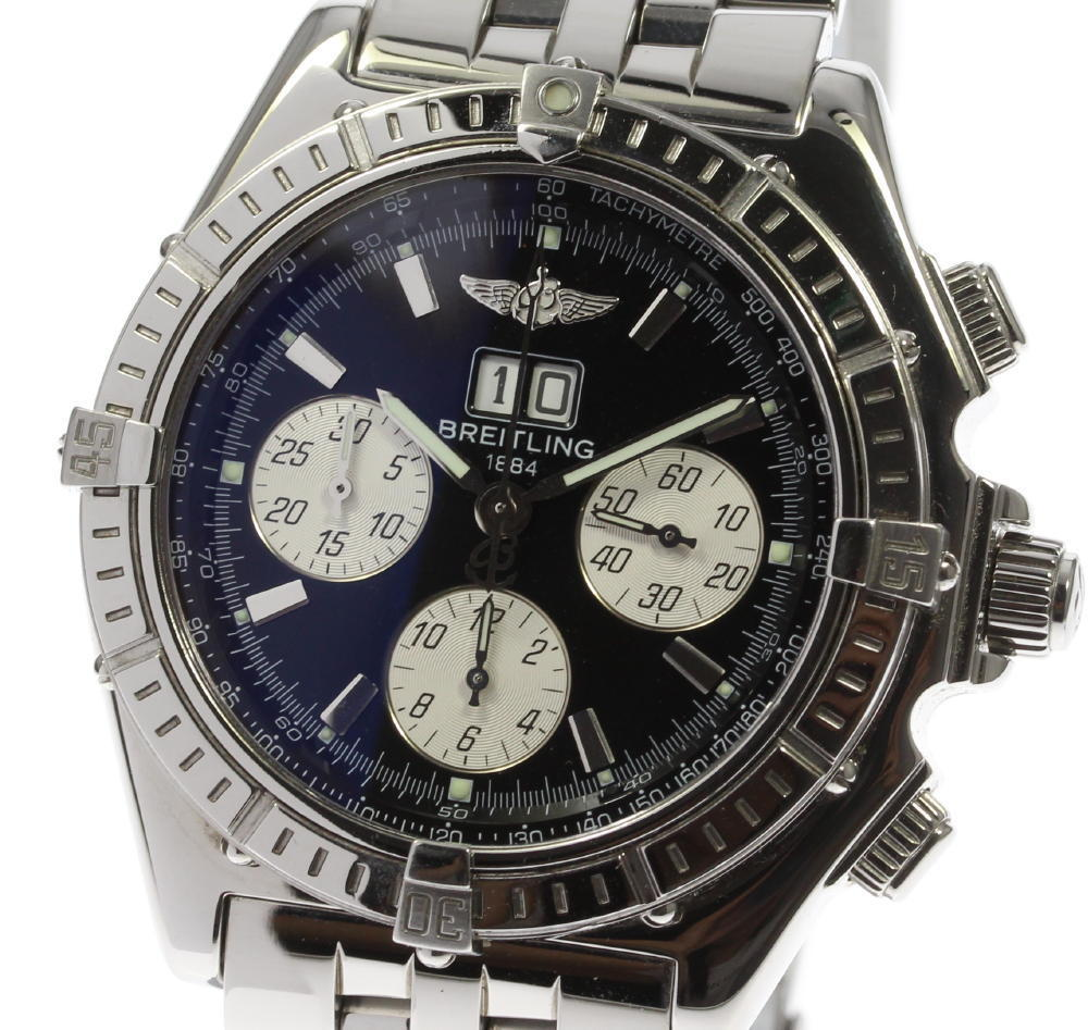 """Image of """"Breitling Windrider Crosswind A44355 Stainless Steel Automatic 44mm"""""""
