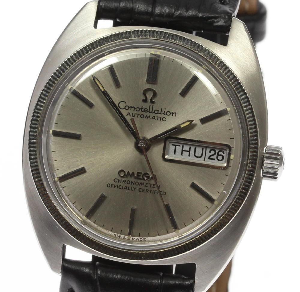 """Image of """"Omega Constellation Stainless Steel / White Gold Automatic 35mm Mens"""""""