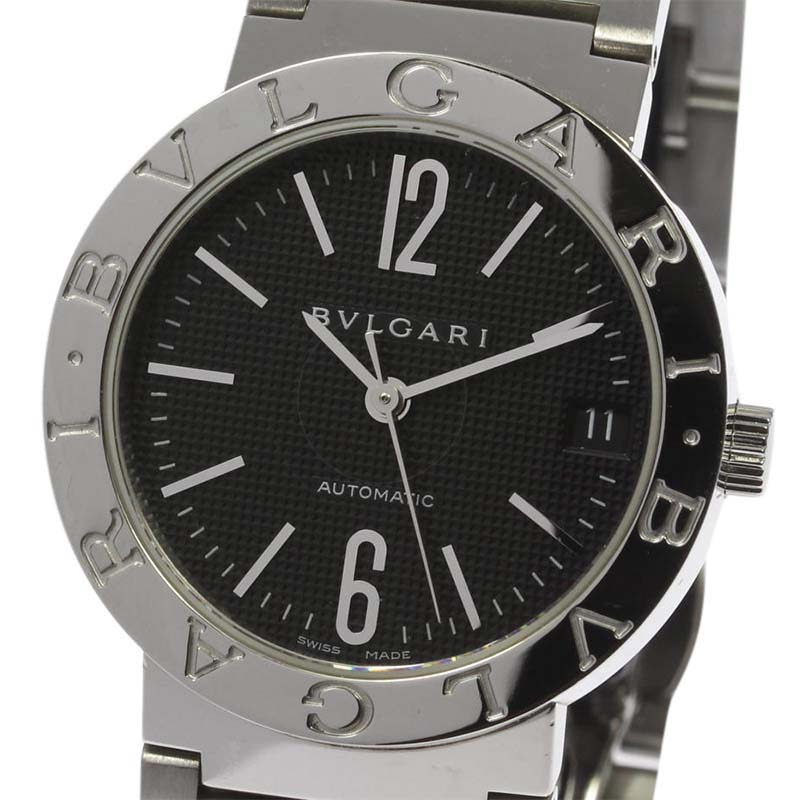"Image of ""Bulgari Bb33Ss Automatic Stainless Steel 33mm Unisex Watch"""