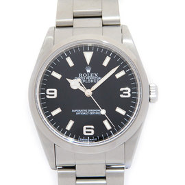 Rolex Explorer I 14270 Stainless Steel Automatic Black Dial 36mm Mens Watch